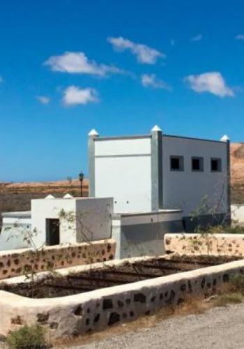 La Oliva pretende el arreglo de dos aljibes como atractivo turístico para la Ruta del Agua